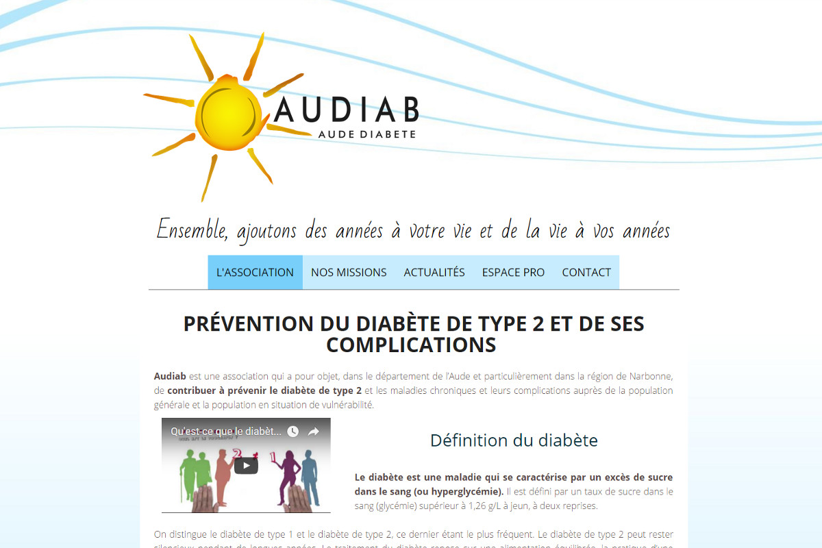 2015 - Audiab - Association Diabètiques 2